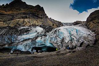 Icelandic Glacier in Thorsmork